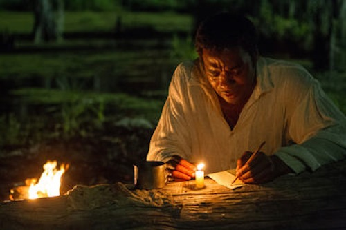 Chiwetel Ejiofor as Solomon Northup in Twelve Years a Slave. 2013 Fox Searchlight.