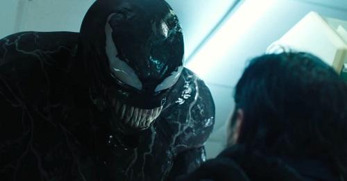 Venom, image courtesy Columbia Pictures Corporation/Sony Pictures Entertainment.