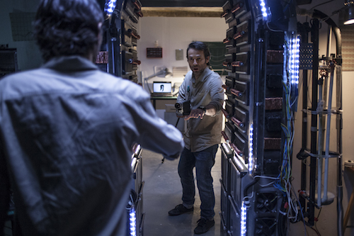 A scene from Parallel Monsters in V/H/S VIRAL, a Magnet Release. Photo courtesy of Magnet Releasing.
