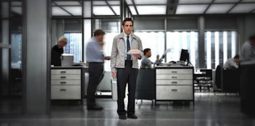 Ben Stiller as Walter Milly in The Secret Life of Walter Mitty. 2013 Wilson Webb / Twentieth Century Fox.