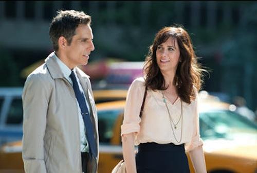 Ben Stiller and Kristen Wiig in Walter Milly in The Secret Life of Walter Mitty. 2013 Wilson Webb / Twentieth Century Fox.
