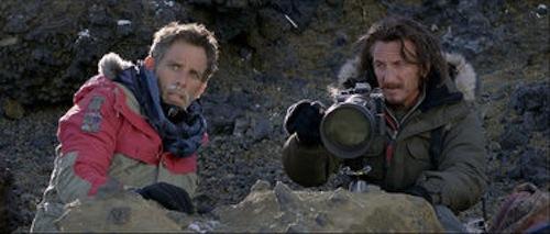 Ben Stiller and Sean Penn in Walter Milly in The Secret Life of Walter Mitty. 2013 Wilson Webb / Twentieth Century Fox.