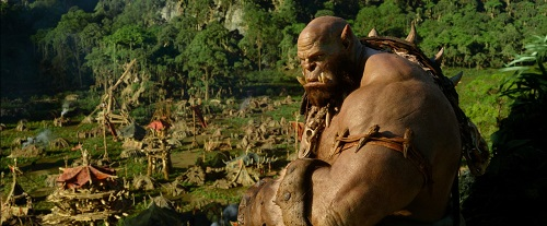 Robert Kazinsky in Warcraft (2016).  Photo courtesy Universal Pictures.