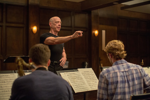 J.K. Simmons as Fletcher. Photo by Daniel McFadden, Courtesy of Sony Pictures Classics