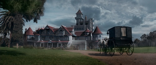 The Winchester mansion in a scene from WINCHESTER to be released by CBS Films and Lionsgate. Photo credit: Ben King.