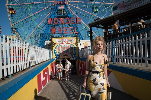 Juno Temple in Woody Allen's WONDER WHEEL, an Amazon Studios release. Credit: Jessica Miglio / Amazon Studios.