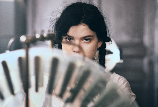 Soko as Augustine in AUGUSTINE. Courtesy of Music Box Films