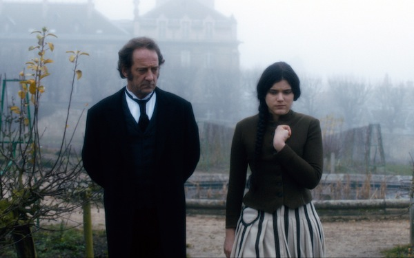Vincent Lindon as Professor Charcot and Soko as Augustine in AUGUSTINE. Courtesy of Music Box Films