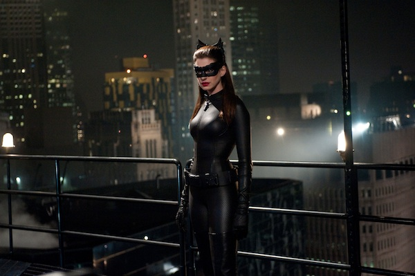 ANNE HATHAWAY as Selina Kyle in Warner Bros. Pictures' and Legendary Pictures' action thriller