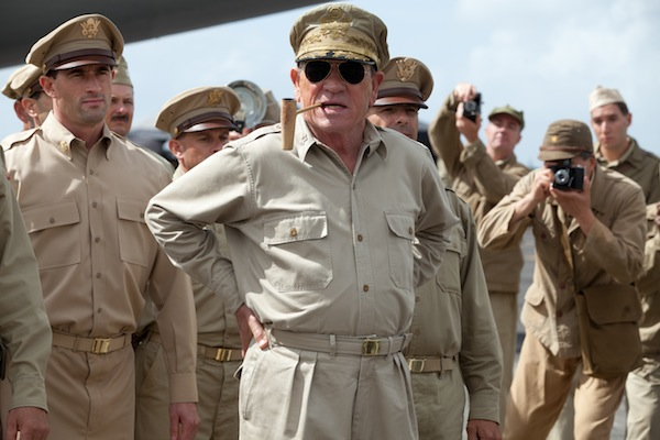 Tommy Lee Jones stars as Gen. Douglas MacArthur in Peter Webber's EMPEROR.  Photographer: Kirsty Griffin