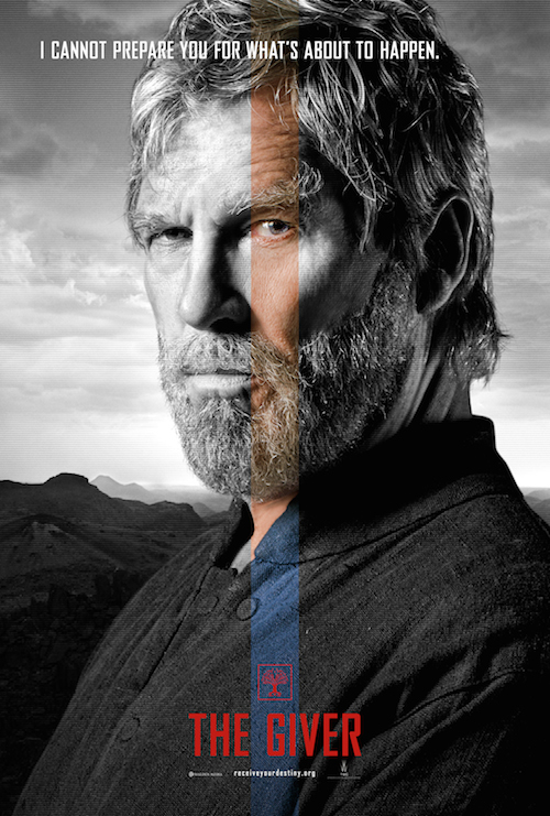 Jeff Bridges, The Giver Character Poster