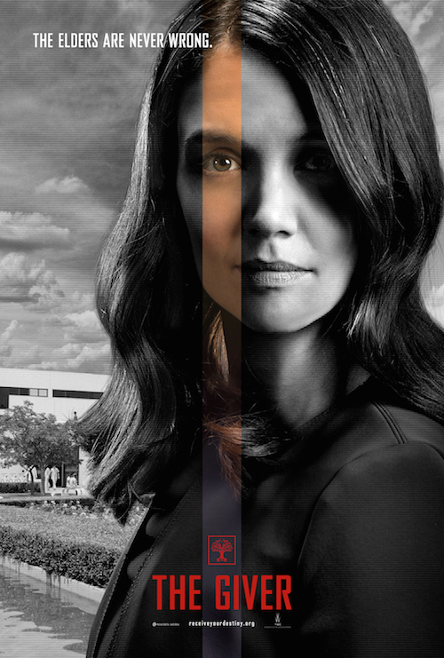 Katie Holmes, The Giver Character Poster