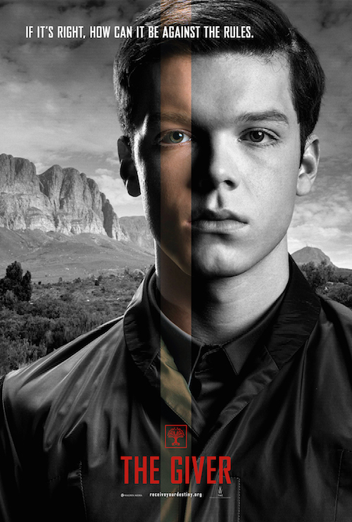 Cameron Monaghan, The Giver Character Poster