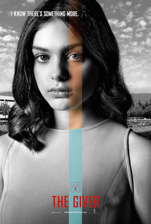 Odeya Rush, The Giver Character Poster