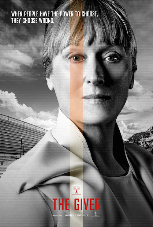 Meryl Streep, The Giver Character Poster