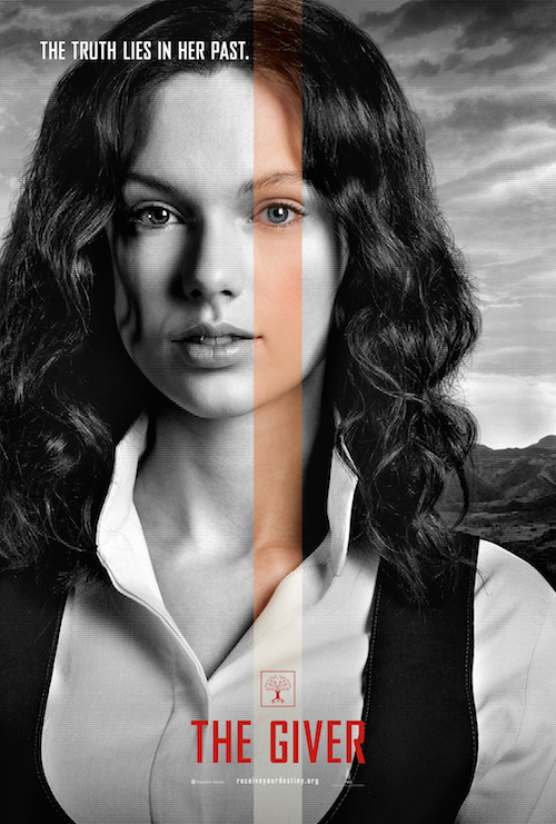 Taylor Swift, The Giver Character Poster