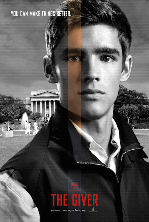 Brenton Thwaites, The Giver Charater Poster