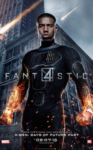 Johnny 'Fantastic 4' Character Banner