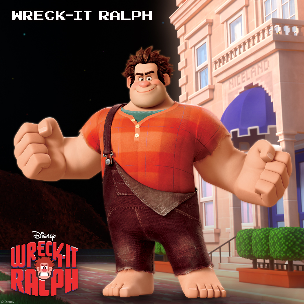 "Wreck-It Ralph: Bad Guys Finish Last Ralph is a heavy-handed wrecking' riot with a heart. For 30 years—day in, day out—he's been doing his job as ""The Bad Guy"" in the arcade game Fix-it Felix Jr. But it's getting harder and harder to love his job when no one seems to like him for doing it. Suffering from a classic case of Bad-Guy fatigue and hungry for a little wreck-ognition, Ralph embarks on a wild adventure across an incredible arcade-game universe to prove that just because he's a Bad Guy, it doesn't mean he's a bad guy."