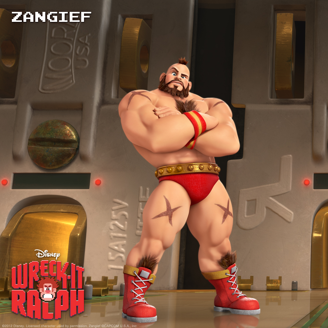 "Zangief:  Not a Bad Guy Zangief, the muscle-bound, hairy-chested, Mohawked wrestler from ""Street Fighter,"" is a regular at the Bad-Anon meetings."