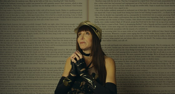 Laura Albert in AUTHOR: THE JT LEROY STORY, a Magnolia Pictures release. Photo courtesy of Amazon Studios / Magnolia Pictures.