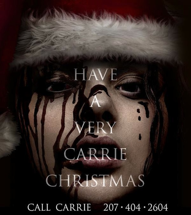 Carrie Christmas Poster