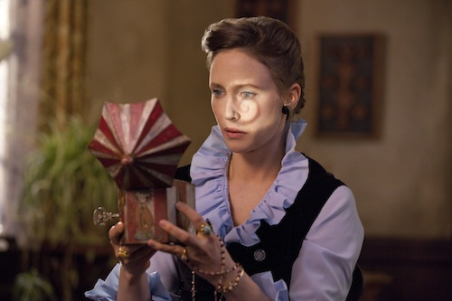 VERA FARMIGA as Lorraine Warren in New Line Cinema's supernatural thriller