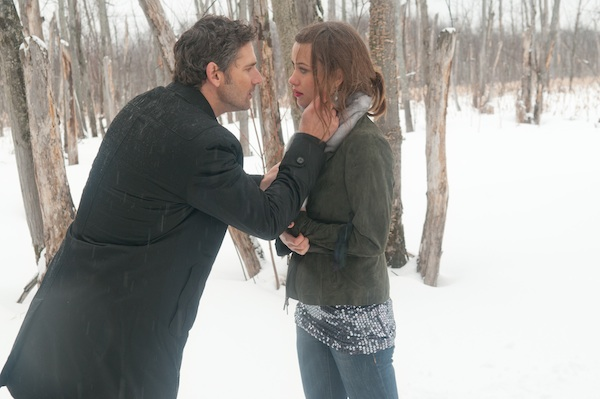 Eric Bana and Olivia Wilde in DEADFALL, a Magnolia Pictures release.