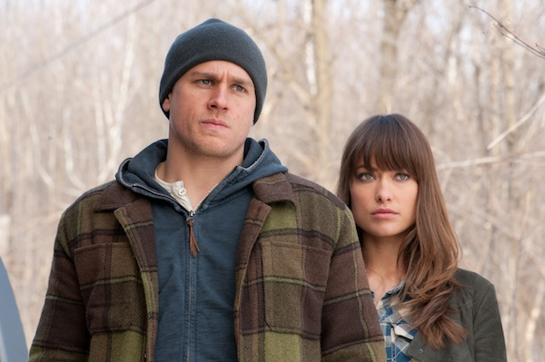 Charlie Hunnam and Olivia Wilde in DEADFALL, a Magnolia Pictures release.