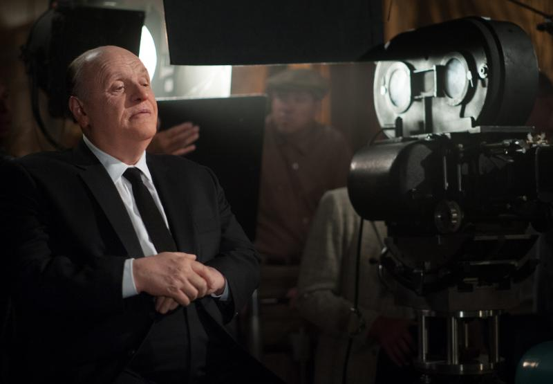 "Anthony Hopkins as ""Alfred Hitchcock"