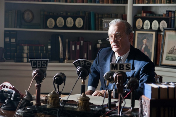 Bill Murray stars as FDR in Roger Michell's historical tale Hyde Park On Hudson, a Focus Features release.  Credit: Nicola Dove