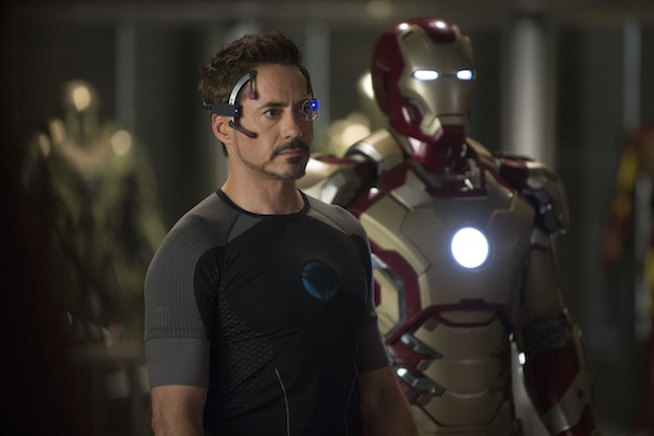 Tony Stark in Iron Man 3