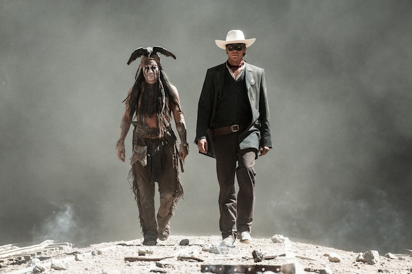 Gore Verbinski's The Lone Ranger, with Johnny Depp and Armie Hammer