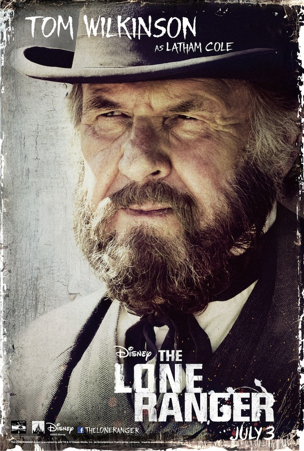 The Lone Ranger Character Poster, Tom Wilkinson