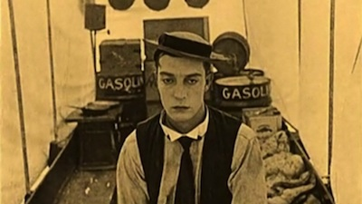 Buster Keaton in Love Nest