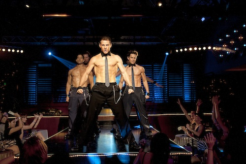 (L-r) ADAM RODRIGUEZ as Tito, KEVIN NASH as Tarzan, CHANNING TATUM as Mike, and MATT BOMER as Ken in Warner Bros. Pictures' dramatic comedy