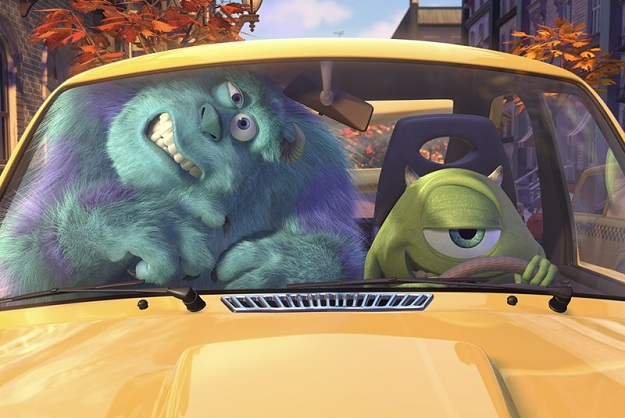 Sulley and Mike from Monsters Inc. 3D