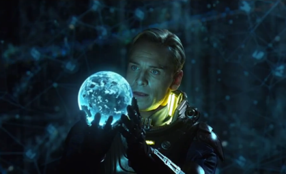 David (Michael Fassbender) in Prometheus