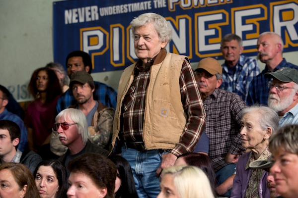 Hal Holbrook stars as Frank Yates in Gus Van Sant's contemporary drama PROMISED LAND, a Focus Features release.  Credit: Scott Green