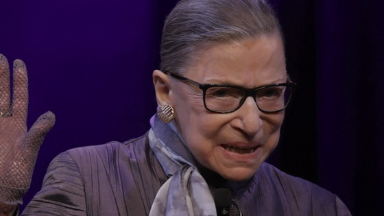 Associate Justice of the Supreme Court of the United States, Ruth Bader Ginsburg in RBG, a Magnolia Pictures release. Photo courtesy of Magnolia Pictures.