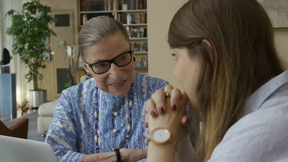 A scene from RBG, a Magnolia Pictures release. Photo courtesy of Magnolia Pictures.
