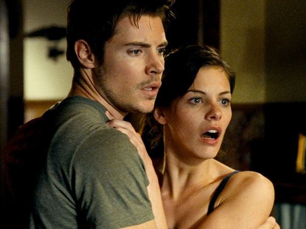 Josh Henderson and Haley Webb in Rushlights