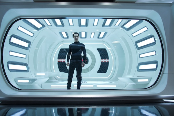 Benedict Cumberbatch is John Harrison in Star Trek Into Darkness