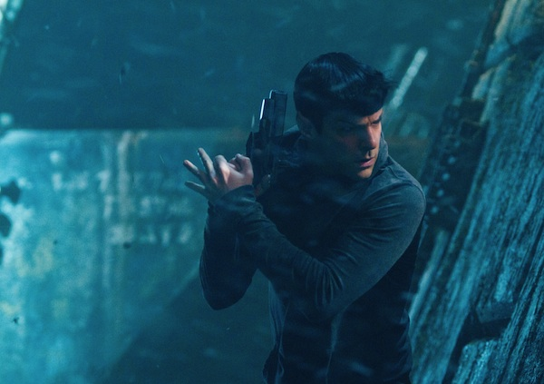 Zachary Quinto is Spock in Star Trek Into Darkness