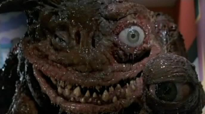 The alien monster in TerrorVision