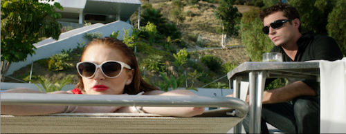 Lindsay Lohan and James Deen in The Canyons