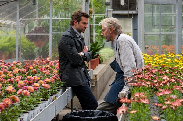 Bradley Cooper (as Rory Jansen) and Jeremy Irons (as The Old Man) star in CBS Films' romantic drama THE WORDS.  Photo Credit: Jonathan Wenk