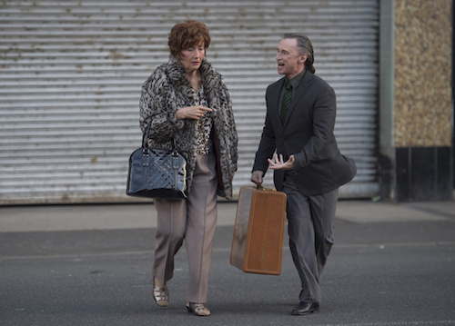 Robert Carlyle and Emma Thompson in 'The Legend of Barney Thomson'