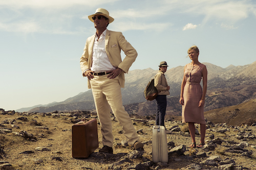 Viggo Mortensen, Oscar Isaac and Kirsten Dunst in THE TWO FACES OF JANUARY, a Magnolia Pictures release. Photo courtesy of Magnolia Pictures.