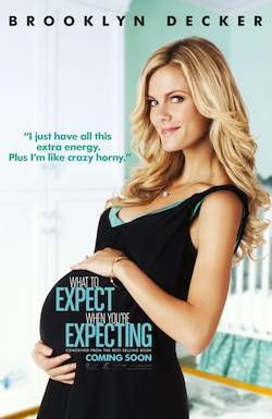 What To Expect When You're Expecting Brooklyn Decker Poster